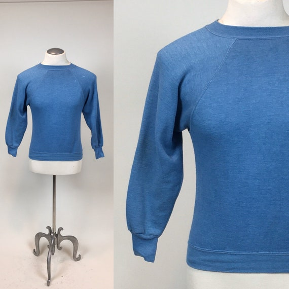 Vintage 1960s Gym Pullover Athletic Sweatshirt / v