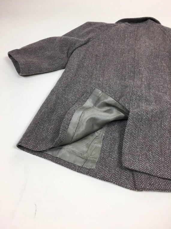 Vintage 1940s Boys Tweed Coat Pantsuit Set / vint… - image 4