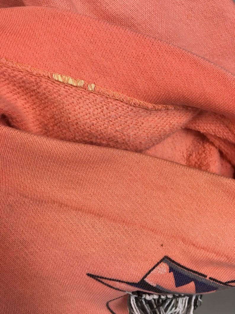 vintage 1950s Novelty Print Kitsch Sweatshirt  vintage 1950s Screen Print Novelty Ladies Summer Beach Shirt