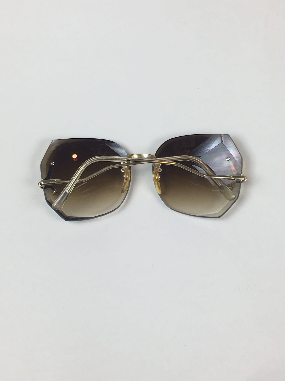 Vintage 1980s 1990s Gafas de Sol / vintage 80s 90s Grandes