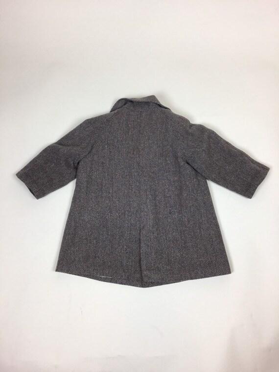 Vintage 1940s Boys Tweed Coat Pantsuit Set / vint… - image 3