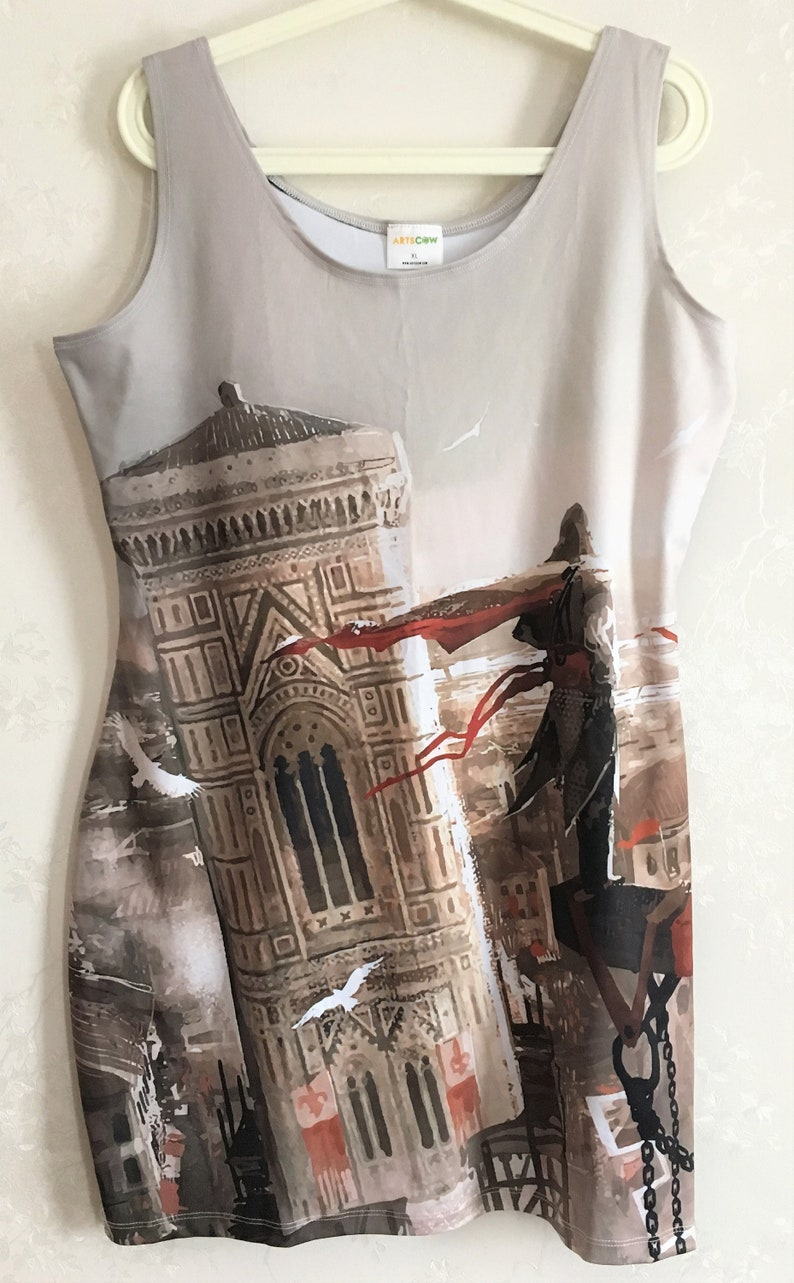 a3c668c57a80 Assassin s Creed Bodycon Dress SAMPLE Size Women s