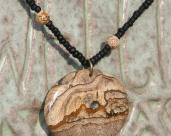 Chinese Cliffs Pendant Necklace