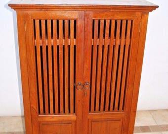 Very Rare Antique Innis Pearce Amp Co Tiger Oak Locking