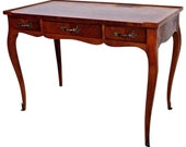 Vintage Baker Fine Furniture Louis XV style vanity desk Inlay top Insured safe Nation Wide Shipping Available