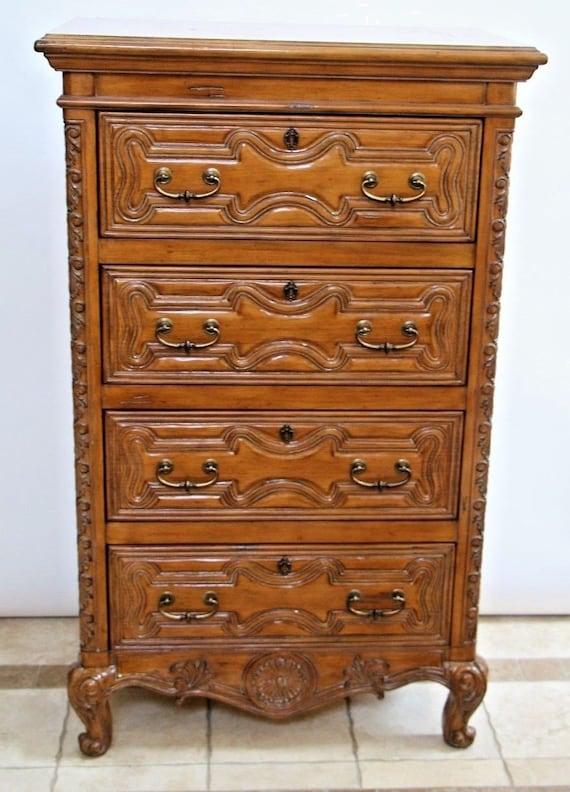 Drexel Touchstone Collection Highboy Four Drawer Dresser | Etsy
