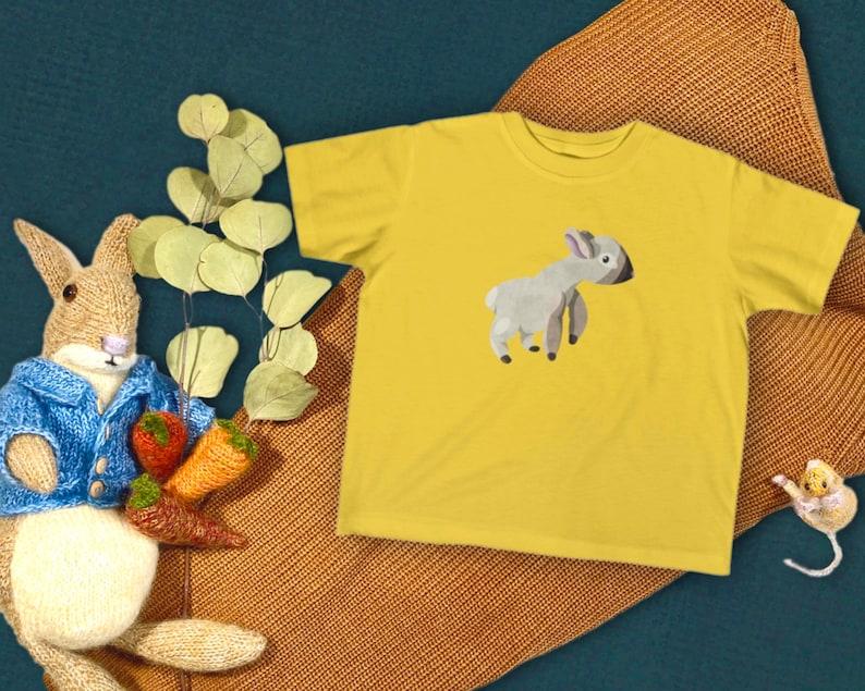 Baby Lamb Sheep Kids Tshirt Design  Unisex Youth Short Sleeve Shirt  Farm Animal Childrens T Shirt  Unique Easter Gift for Boy or Girl