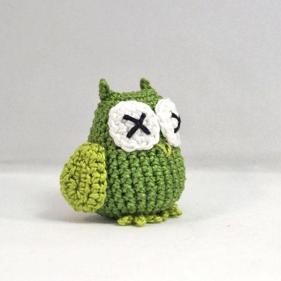 Mini Crocheted Owl