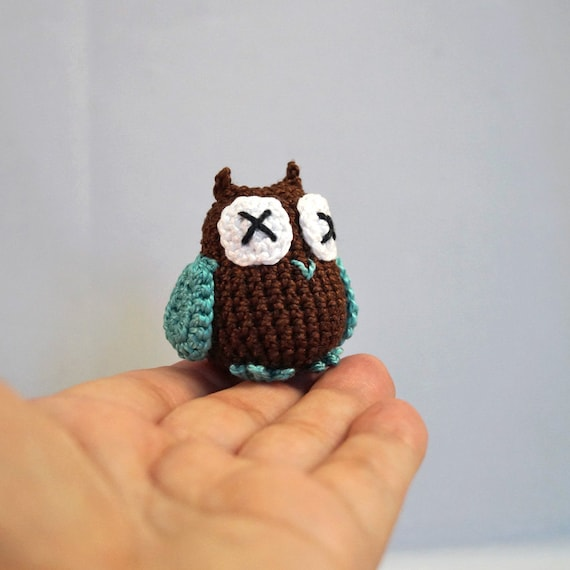 Mini Crocheted Owl