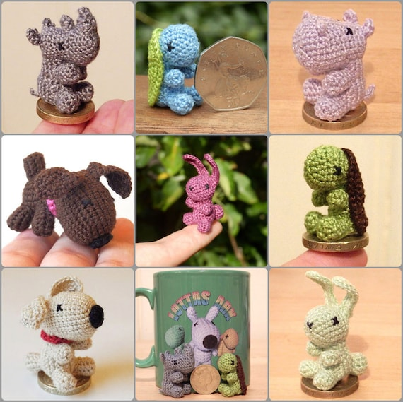 Micro Crocheted Animal