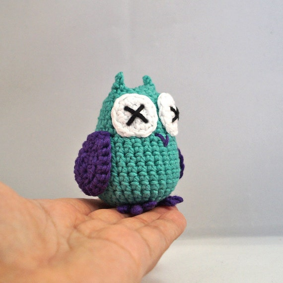 Medium Crocheted Owl