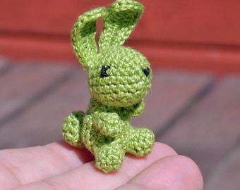 Micro Crocheted Bunny