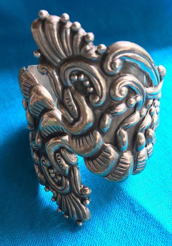 Big Bold Aztec Glyph Bracelet