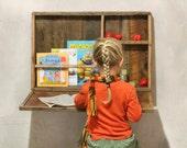 Children 39 s Desk made from Reclaimed Wood - Kids Desk - Play Desk