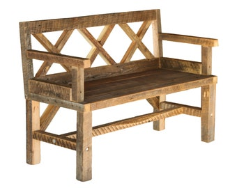 Admirable Outdoor Bench Etsy Uwap Interior Chair Design Uwaporg