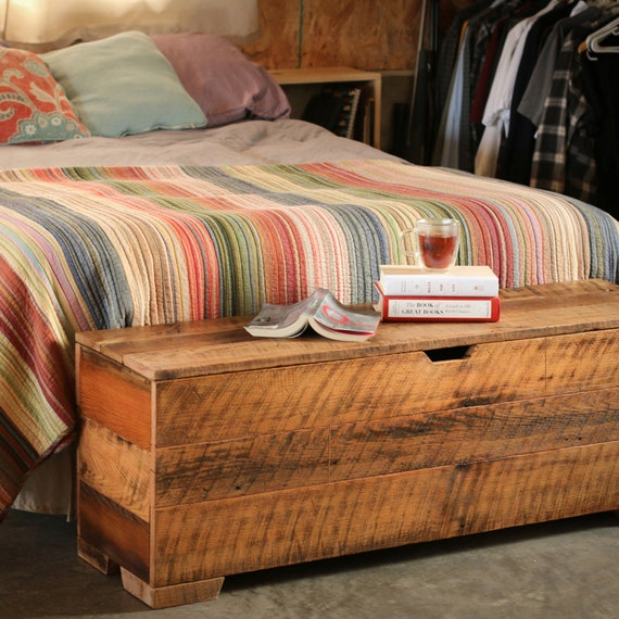 Super Storage Bench 50 Bedroom Bench Hope Chest End Of Bed Bench Bedroom Storage Bench Trunk Barn Wood Reclaimed Wood Barn Wood Camellatalisay Diy Chair Ideas Camellatalisaycom