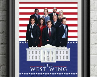 The West Wing - Aaron Sorkin Jed Bartlet Art Print Wall Decor Typography Inspirational Poster Motivational Movie Quote