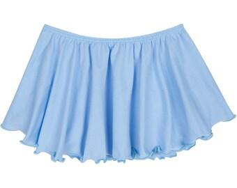LIGHT BLUE Toddler & Girls Flutter Ballet - Dance Skirt
