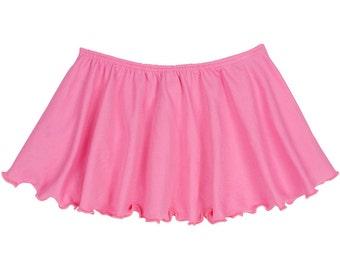 BRIGHT PINK Toddler & Girls Flutter Ballet - Dance Skirt