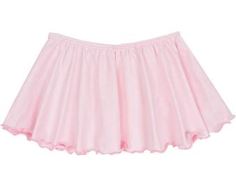 Light Pink Toddler & Girls Flutter Ballet Dance Skirt READY TO SHIP