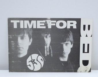 John Digweed Postcard 1998 Vintage Global Underground Band Card Thrive DJ UK Electronic House Trance Mohawk Music Record Store