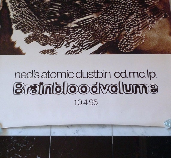 Ned/'s Atomic Dustbin Poster 1992 Are You Normal Vintage Band Poster Mohawk Music Record Store