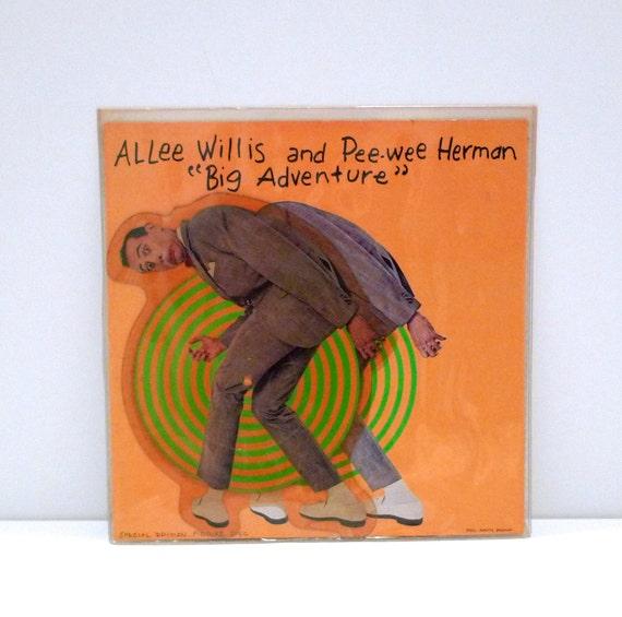 Pee Wee Herman Picture Disc Vinyl Record 1985 Big