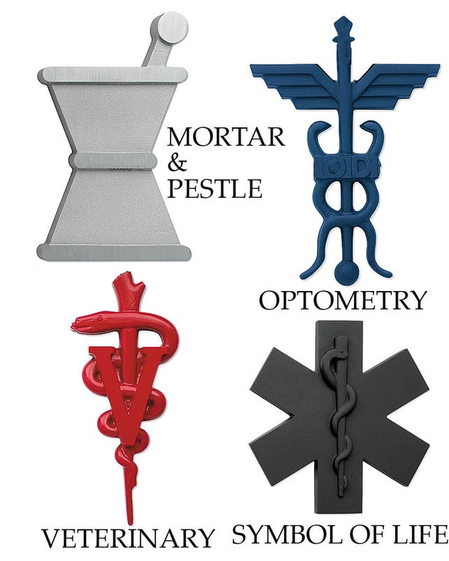 Caduceus Medical Symbols Wall Sign Cast Aluminum Or Bronze Etsy