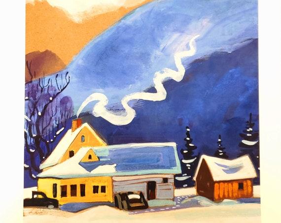 Frosty Little Farm