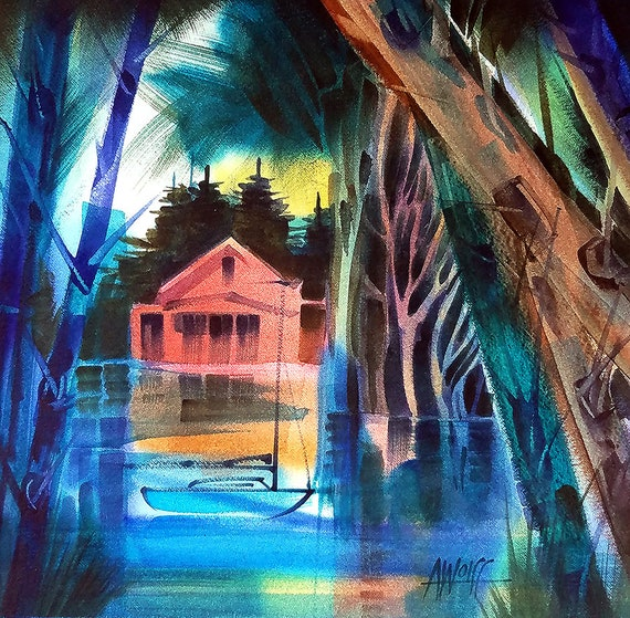 Secret Hideaway Painting