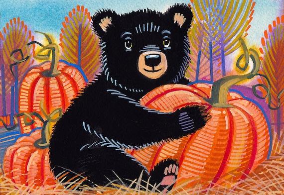 Happy October from Baby Bear!
