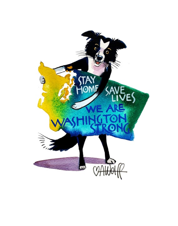 We Are Washington Strong-Stay Home Save Lives