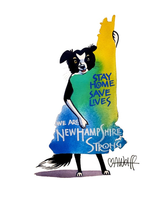 We Are New Hampshire Strong-Stay Home Save Lives
