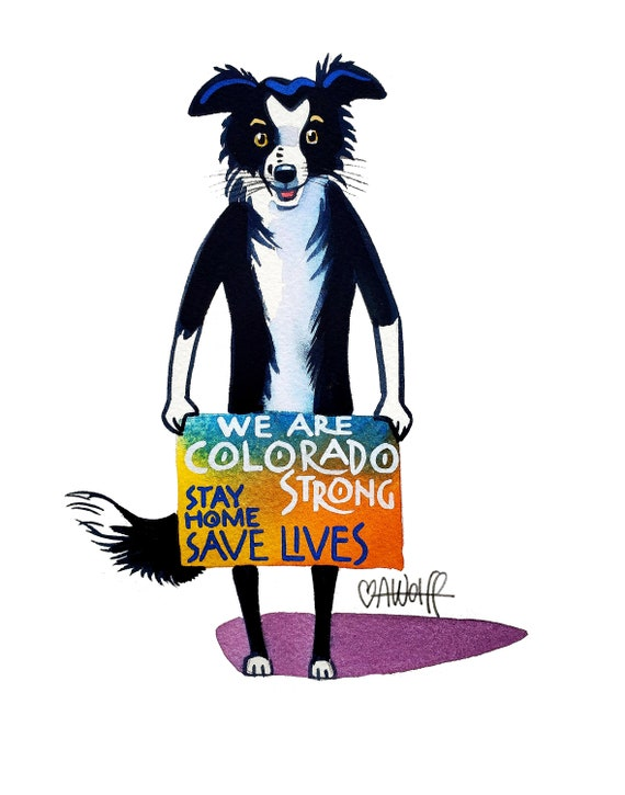 We Are Colorado Strong-Stay Home Save Lives