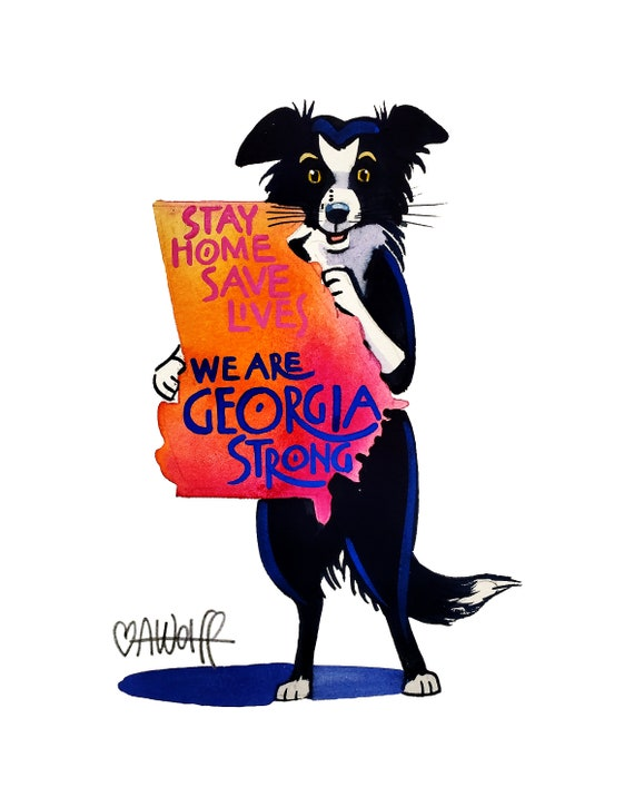 We Are Georgia Strong-Stay Home Save Lives
