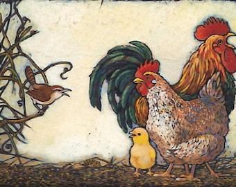 Bless each wren, each rooster and hen