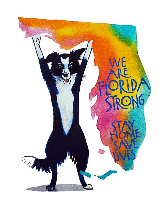 We Are Florida Strong-Stay Home Save Lives