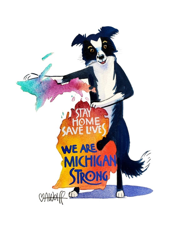 We Are Michigan Strong-Stay Home Save Lives