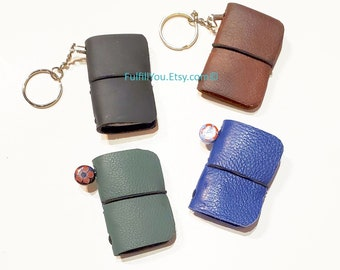 Miniature Leather Blank Journal - Choice Of Color