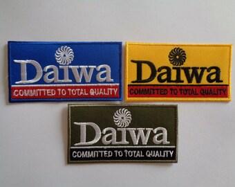 Rapala Fishing Lure Patch Logo Emblem Badge Iron on Tackle Trout Rod Reels Daiwa