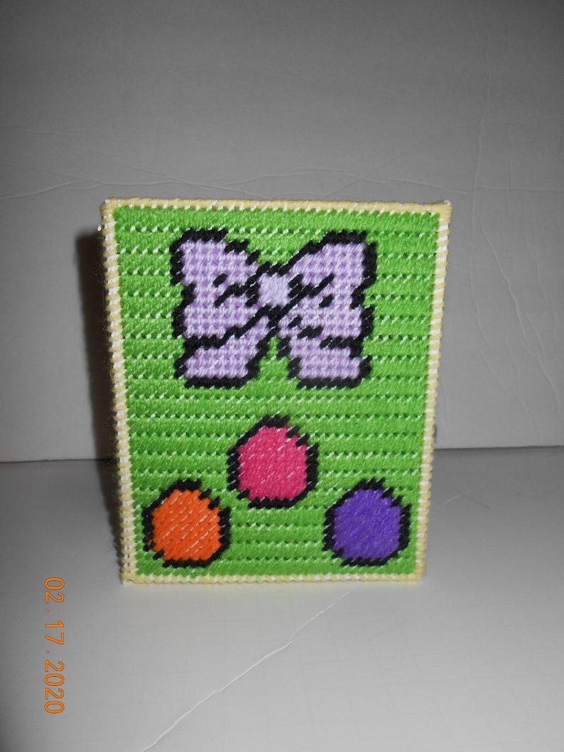 Plastic canvas easter Chick Easter Basket handle or no handle Basket