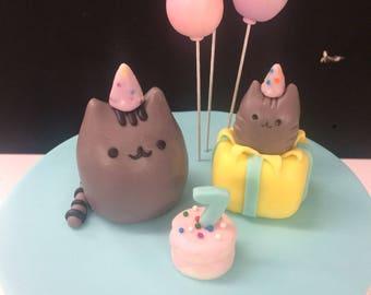 Pusheen Cake Toppers