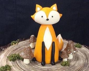 Woodland Fox Cake Topper
