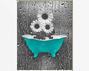 raindrop wall art etsy