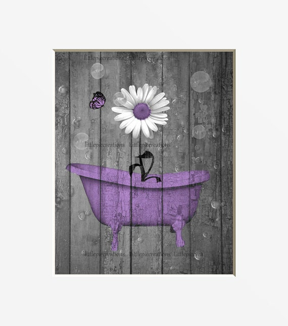 bathroom decor blue Gray Daisy Flowers abstract Wall Art Contemporary Decorative Modern Floral Canvas Artwork Daisy Flower Vase Picture Giclee Print on Canvas Picture Paintings Wall Decor for Bathroom