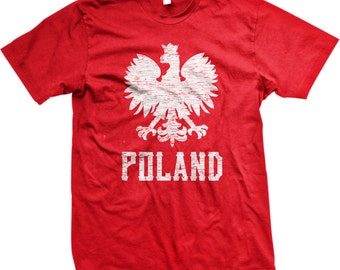 df110c6603b2 Poland White Eagle Men s T-shirt