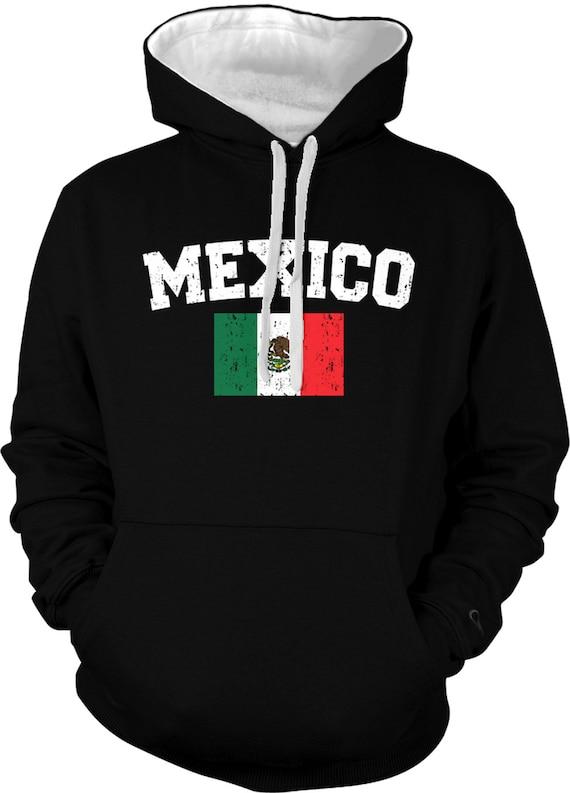 Mexican Crewneck Sweatshirt Mexico Pride Flag
