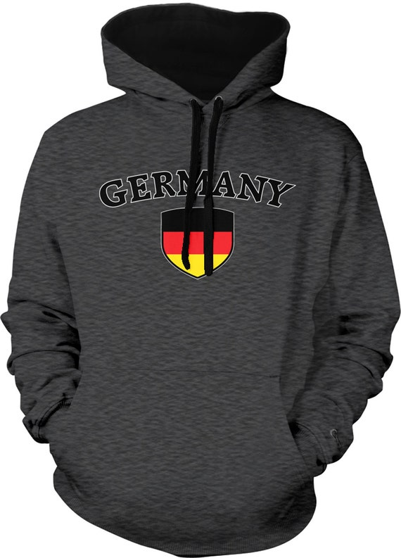 CLASSIC GERMANY GERMAN SKULL FLAG SWEATSHIRT SWEATER PULLOVER Deutschland Berlin