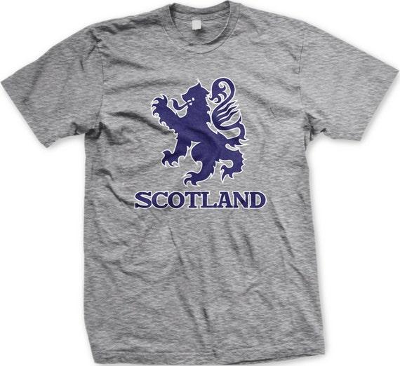 430a25c8e Scotland Lion Rampant Men's T-shirt Scottish Pride In My | Etsy