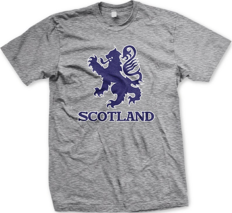 a5bfb8cd88 Scotland Lion Rampant Men's T-shirt Scottish Pride In My | Etsy